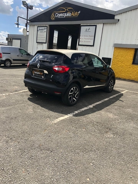 Photo 3 de l'offre de RENAULT CAPTUR 1.2 TCE 120CH INTENS EDC à 9690€ chez Coyecques Auto plus